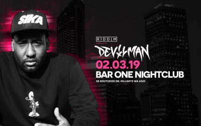 Devilman live. Presented by Riddim