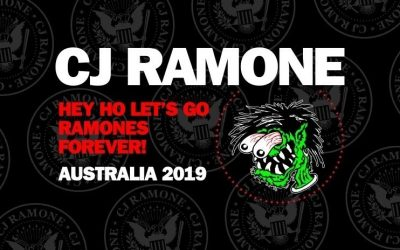 CJ Ramone ★ HEY HO LETS GO ★ Ramones Forever Tour 2019